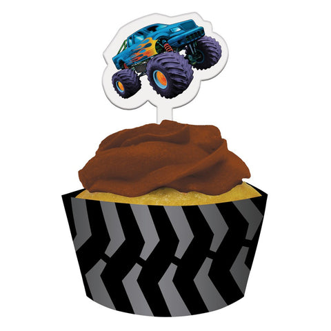 Mudslinger Cupcake Wrappers with Picks/Case of 144