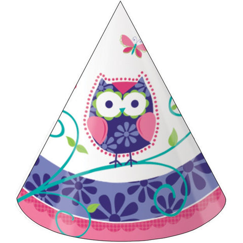 Owl Pal Birthday Child Size Party Hats/Case of 48