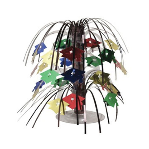 Assorted Color Grad Mini Cascade Centerpiece/Case of 12