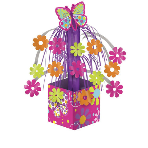 Butterfly Sparkle Mini Cascade Centerpiece with Base/Case of 6