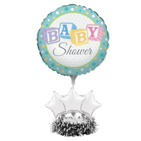 Air Filled Balloon Centerpiece Kit Baby Shower/Case of 4
