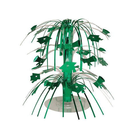 Green Grad Mini Cascade Centerpiece/Case of 12