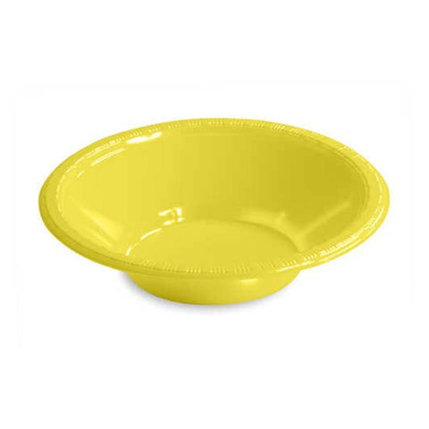 12 oz Plastic Bowls Mimosa/Case of 240