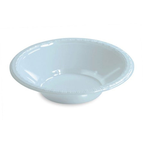 12 oz Plastic Bowls Pastel Blue/Case of 240
