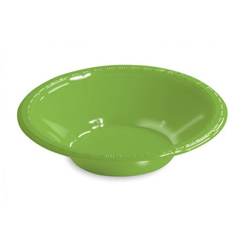 12 oz Plastic Bowls Fresh Lime/Case of 240