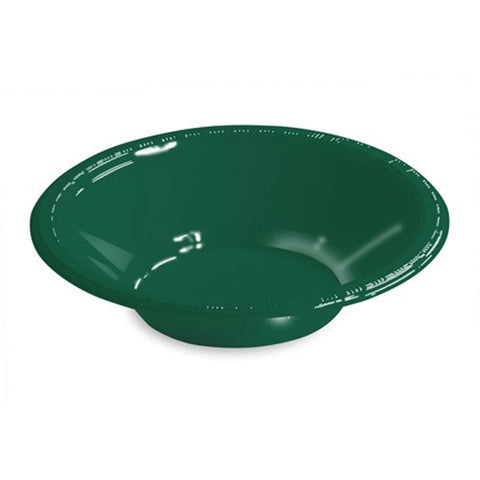12 oz Plastic Bowls Hunter Green/Case of 240