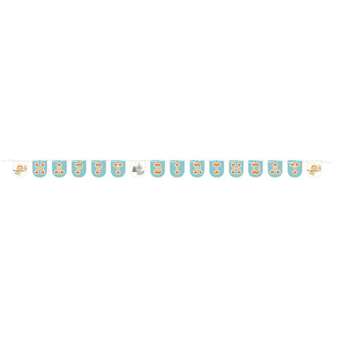 Happi Woodland Boy 7 Ft Shaped Ribbon Banner/Case of 6