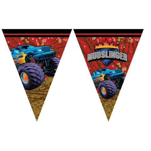 Mudslinger Flag Banner/Case of 6