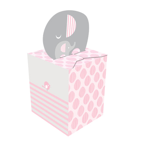 Little Peanut Girl Favor Box/Case of 48