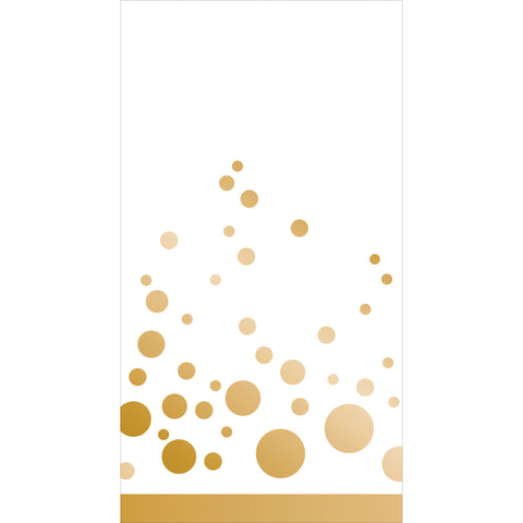 Sparkle and Shine Gold Guest Napkins/Case of 192