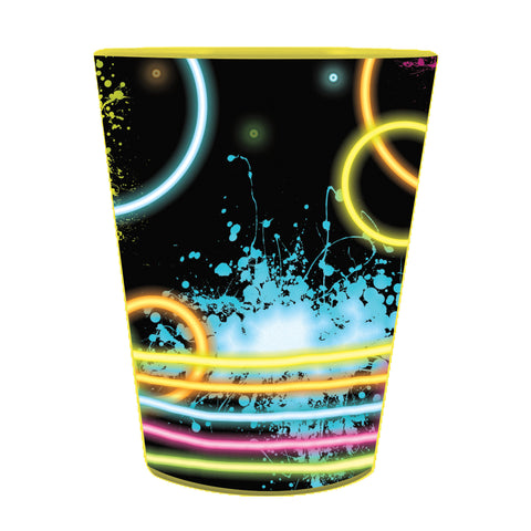 Glow Party 16 Oz Plastic Keepsake Cup/Case of 12