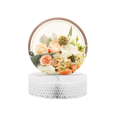 Rose Gold Bouquet Honeycomb Centerpiece/Case of 6
