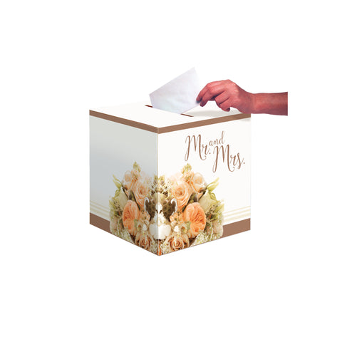 Rose Gold Bouquet 12 Inch Card Box/Case of 6