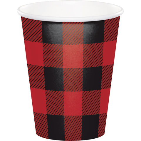 Buffalo Plaid 9 Oz. Paper Cups/Case of 96