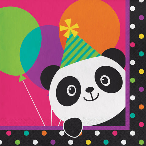 Panda-monium Luncheon Napkin/Case of 192