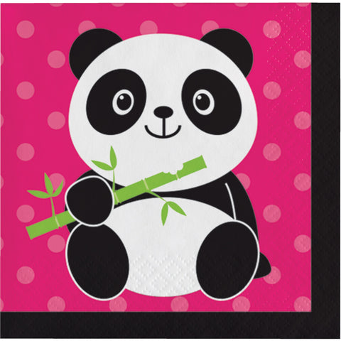 Panda-monium Beverage Napkin/Case of 192