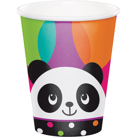 Panda-monium 9 Oz. Paper Cup/Case of 96