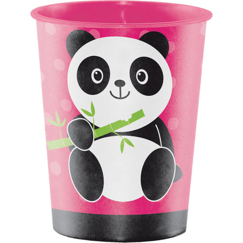 Panda-monium 16 Oz. Plastic Keepsake Cup/Case of 12