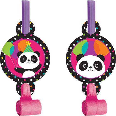 Panda-monium 5 1/4 x 2 1/2 Blowouts w/Medallion/Case of 48
