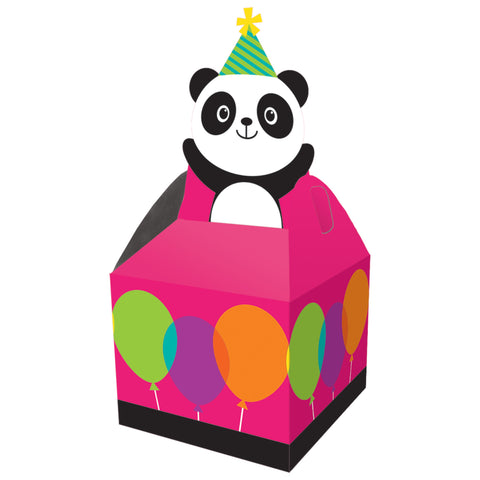 Panda-monium 9 1/8 x 3 1/2 x 3 1/2 Favor Box/Case of 48