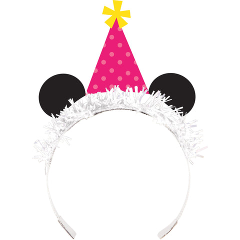 Panda-monium 8 1/2 x 5 1/4 Tiara, Cardstock and Foil/Case of 48
