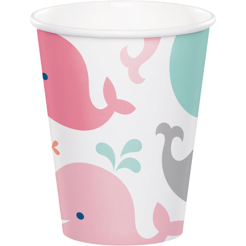 Lil' Spout Pink 9 Oz. Paper Cup/Case of 96