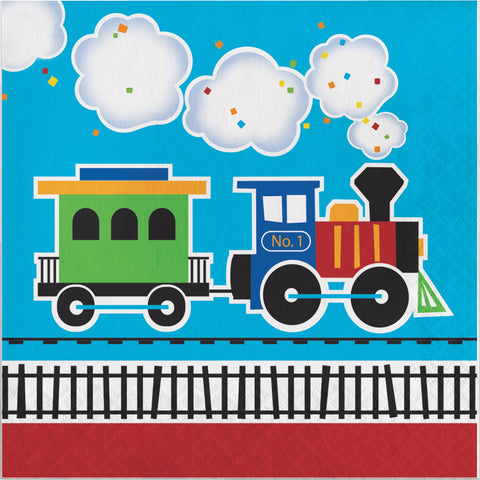 All Aboard Luncheon Napkin/Case of 192
