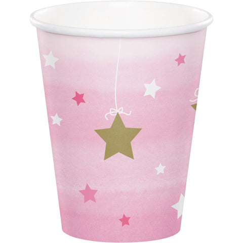 One Little Star Girl 9 Oz. Paper Cup/Case of 96