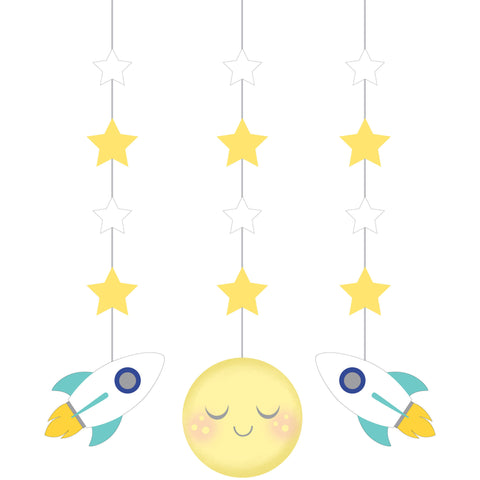 "To the Moon and Back 36"" Hanging Cutouts/Case of 18"