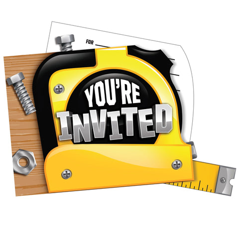 Handyman 4 x 6 Invitation Pop-up/Case of 48