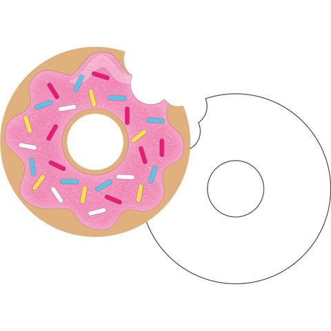 "Donut Time 4 1/2"" Invitation Postcard/Case of 48"