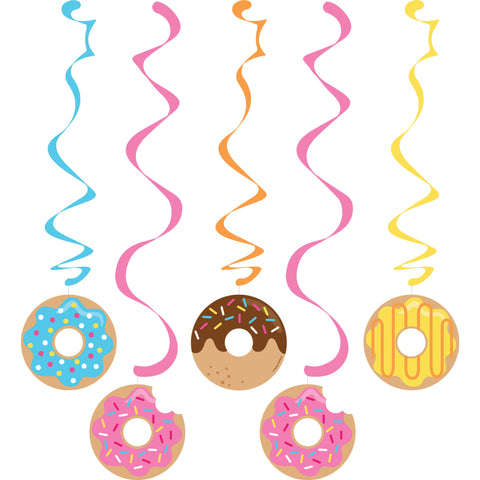 "Donut Time 30""/39"" Dizzy Danglers Assorted/Case of 30"