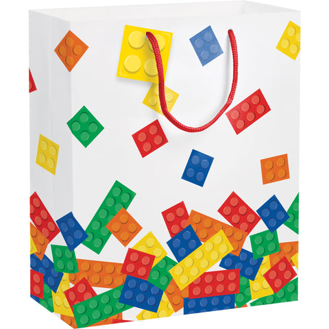 "12"" x 10"" x 5"" Block Party Gift Bag/Case of 12"