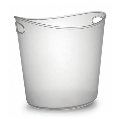 1 Gallon Oval Plastic Ice Buckets/Case of 6