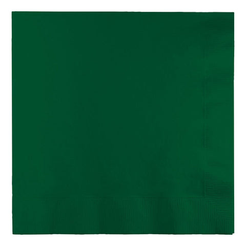 2 Ply Lunch Napkins Bulk Hunter Green/Case of 900