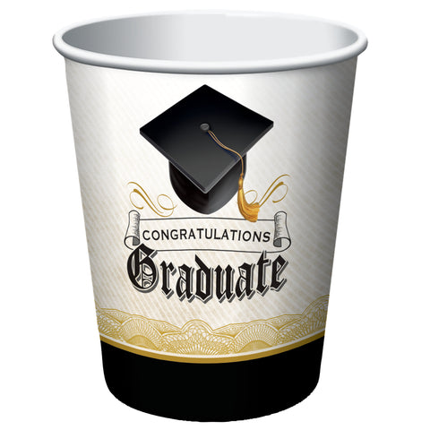 Cap & Gown 9 oz Hot/Cold Cups/Case of 96