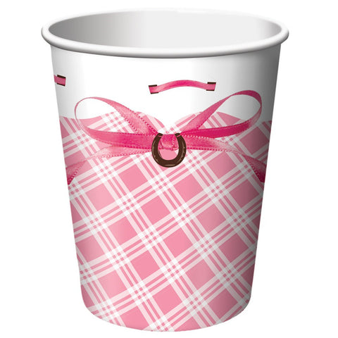 9 oz Hot/Cold Paper Cups Heart My Horse/Case of 96