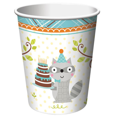 Happi Woodland Boy 9 oz Hot/Cold Cups/Case of 96