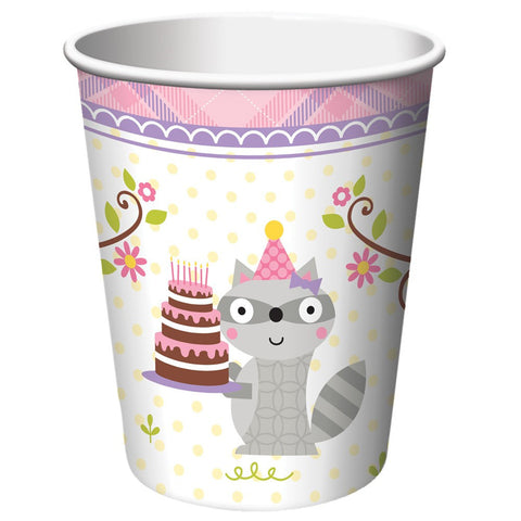 Happi Woodland Girl 9 oz Hot/Cold Cups/Case of 96