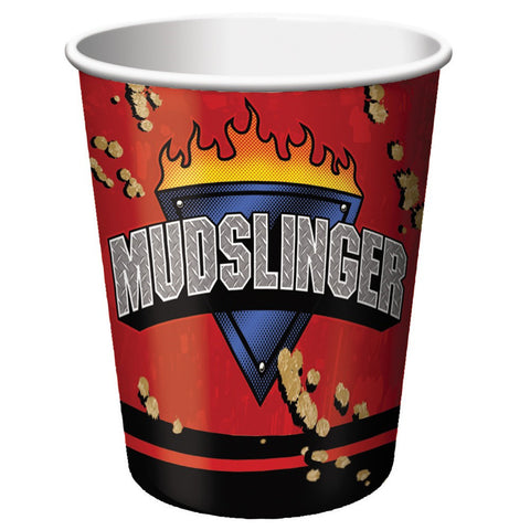 9 oz Hot/Cold Paper Cups Mudslinger/Case of 96