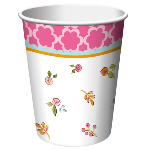 Tea Time 9 oz Hot/Cold Cups/Case of 96