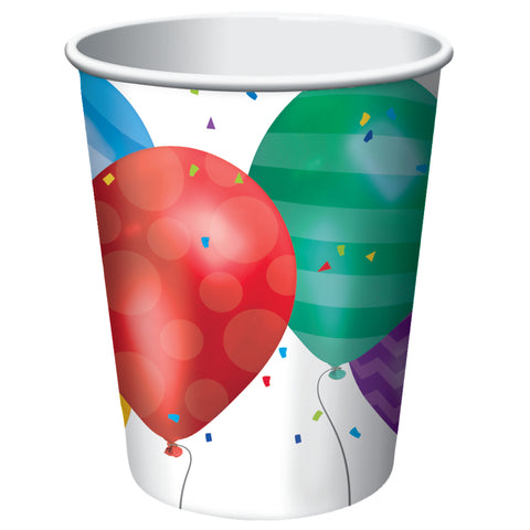 Balloon Blast 9 oz Hot/Cold Cups/Case of 96