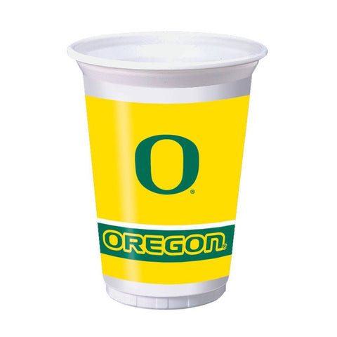 20 oz Printed Plastic Cups Univ of Oregon/Case of 96