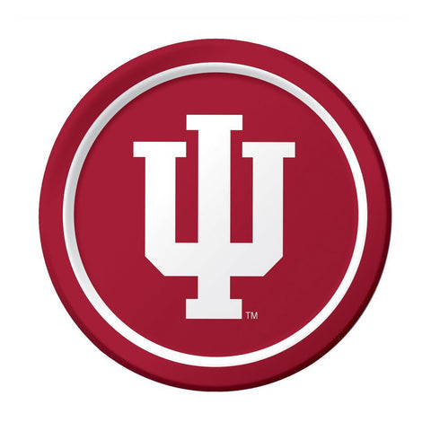 Indiana University 9 inch Round Dinner Plates/Case of 96
