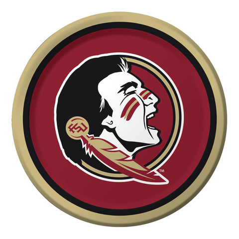 Florida State Univ 9 Inch Dinner Plates/Case of 96