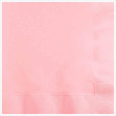 3 Ply Beverage Napkins Classic Pink/Case of 500
