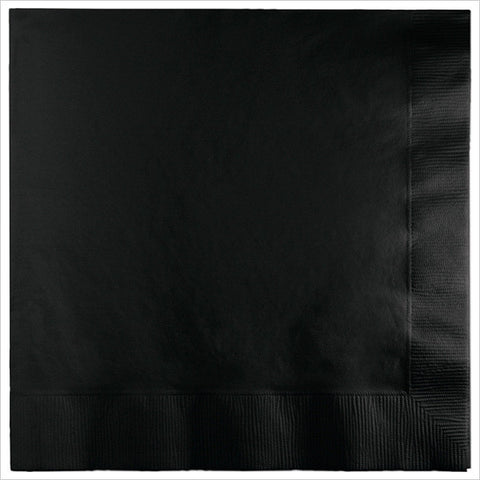 3 Ply Lunch Napkins Black Velvet/Case of 500
