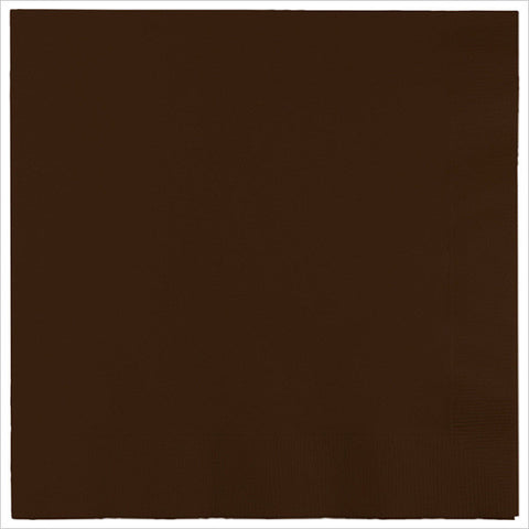 3 Ply 1/4 Fold Dinner Napkins Chocolate Brown/Case of 250