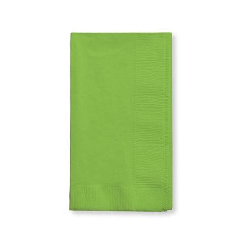 3 Ply 1/4 Fold Dinner Napkins Fresh Lime/Case of 250