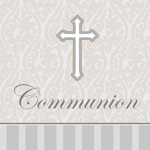 3 Ply Beverage Napkins Communion Devotion Communion/Case of 192